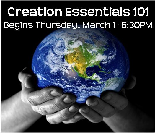 16 week class - CREATION 101