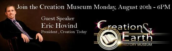 Eric Hovind at The Creation and Earth History Museum