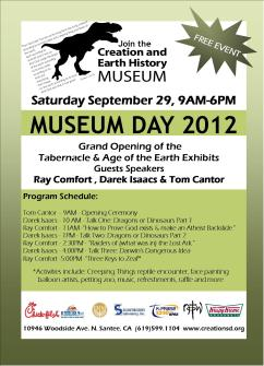 Museum Day at the Creation and Earth History Museum