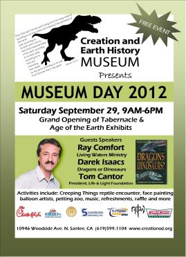 Creation & Earth History Museum Day