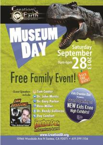 MUSEUM DAY 2013
