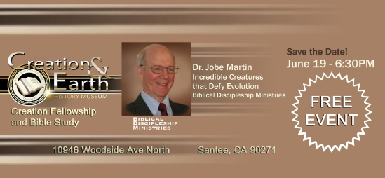 Creation Fellowship Jobe Martin 4