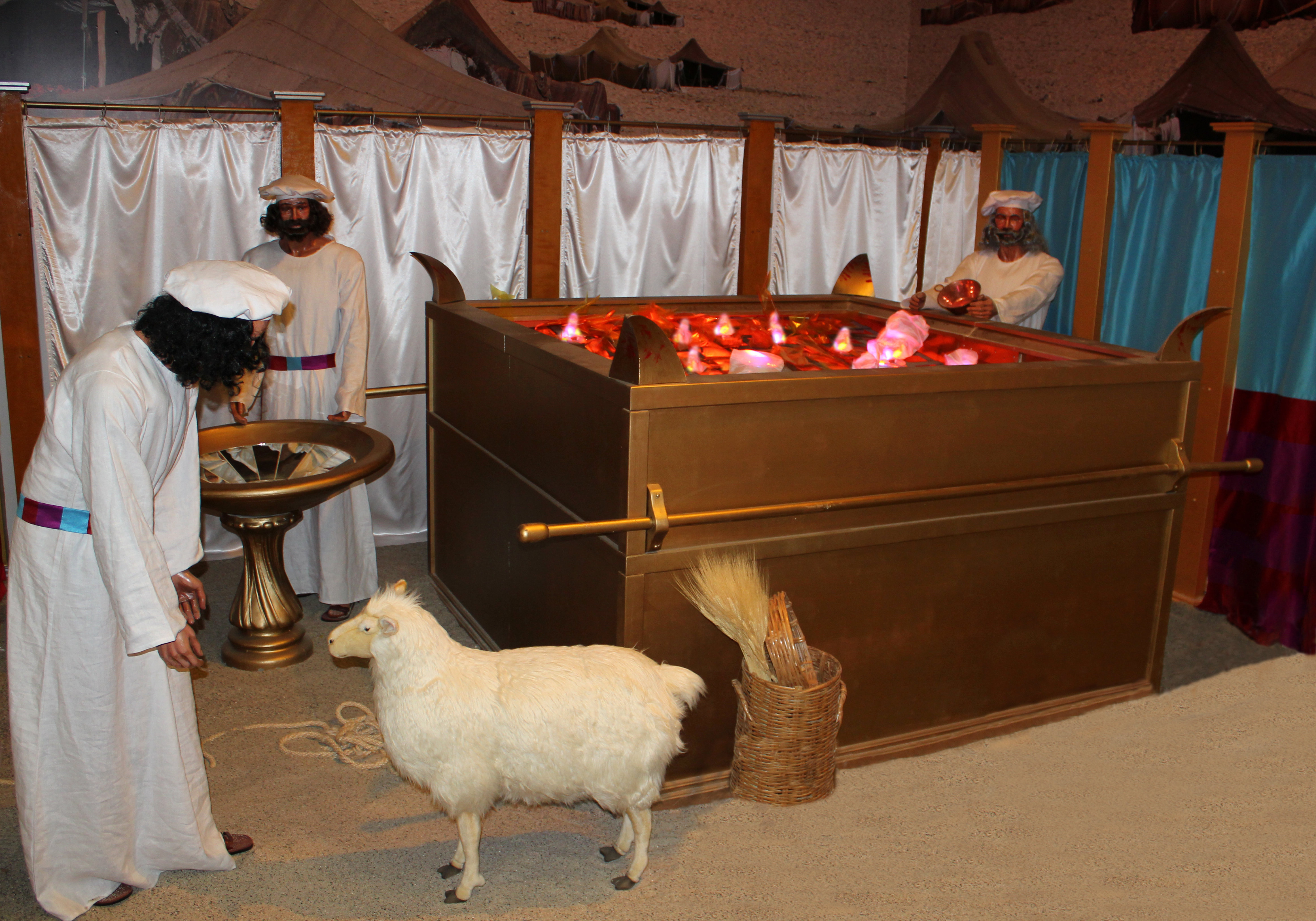 The Tabernacle | Creation and Earth History Museum Blogosphere for Brazen Altar And Laver  110zmd