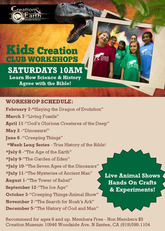 Creation Club for Kids 2015