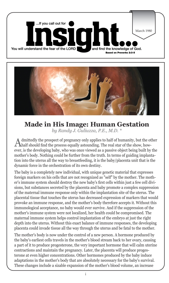 Gestation 1