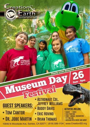 5x7 Museum Day Flyer